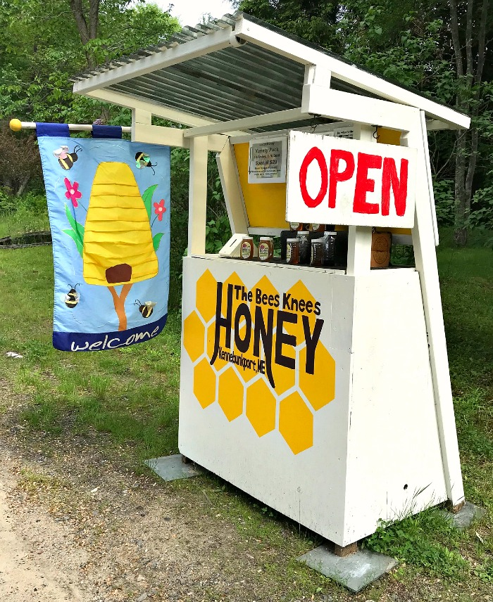 The Bees Knees Honey Stand in Kennebunkport, Maine