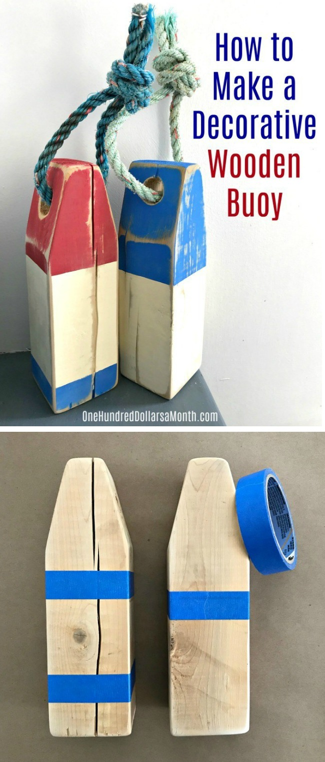 How to Make a Decorative Wooden Buoy