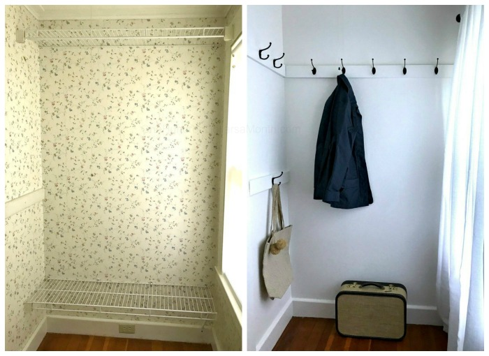Awkward Closet Makeover Before and After Pictures