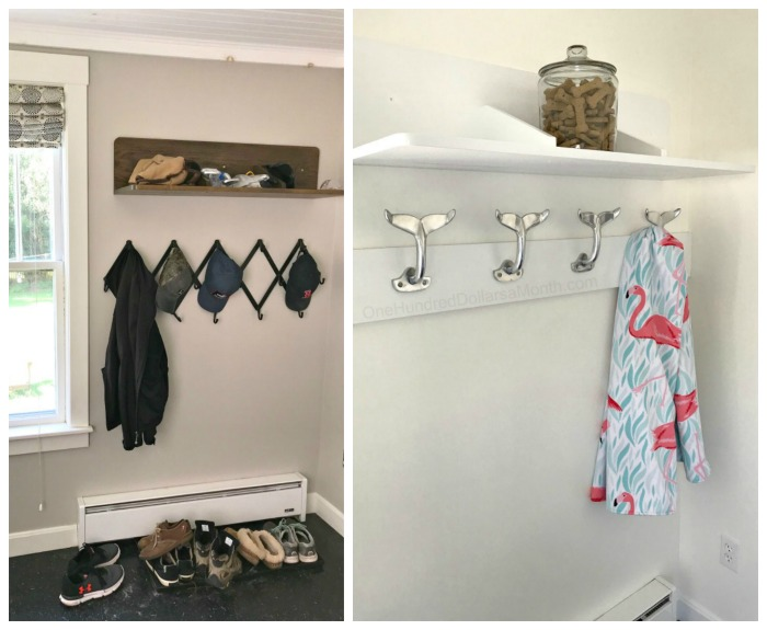 A New Whale Tail Coat Rack for the Mud Room