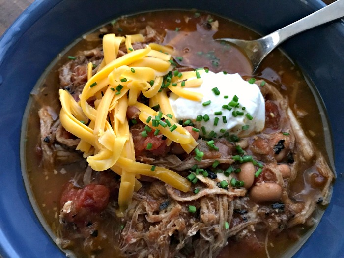 Pulled Pork Chili Recipe {A Great Way to Use Up Leftover Pulled Pork!}