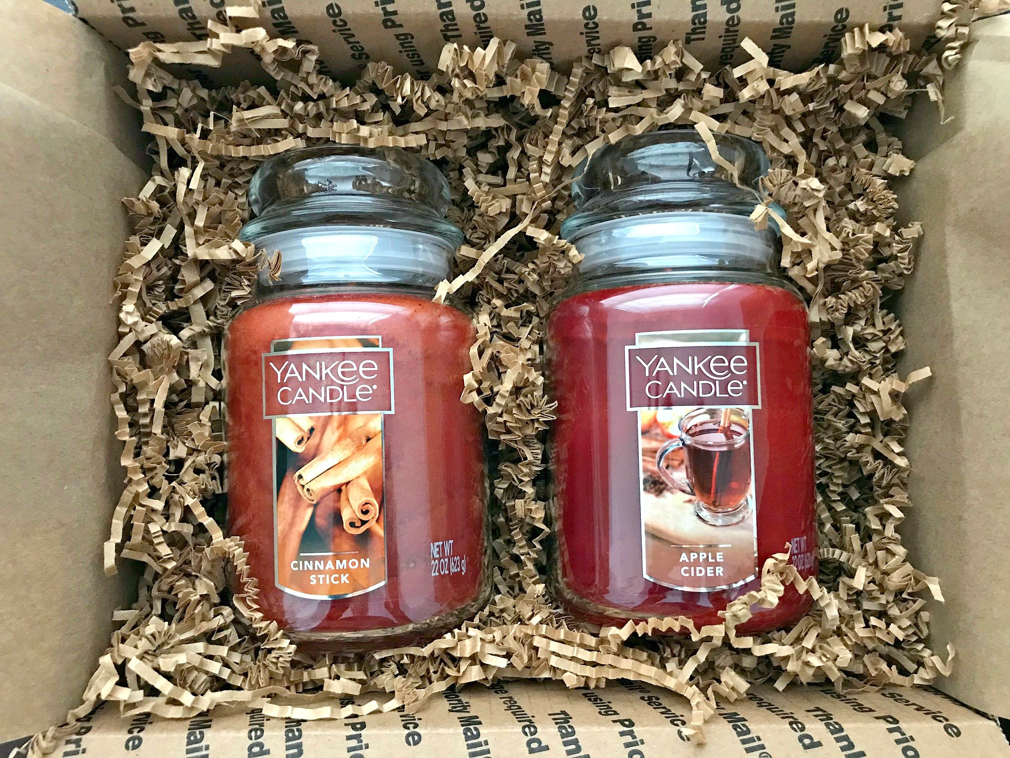 Giveaway: Cinnamon Stick and Apple Cider Candles