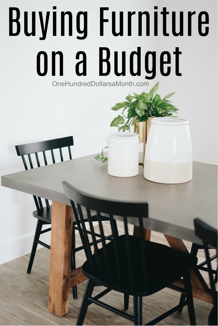 Buying Furniture on a Budget