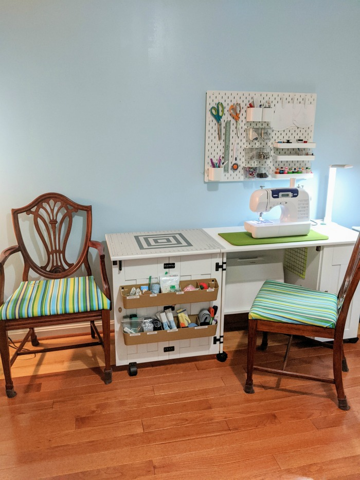 Mel's Mini Sewing Room Makeover