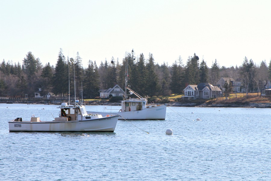 Life in Maine – Port Clyde Village, The Marshall Point Lighthouse and a Glass Greenhouse