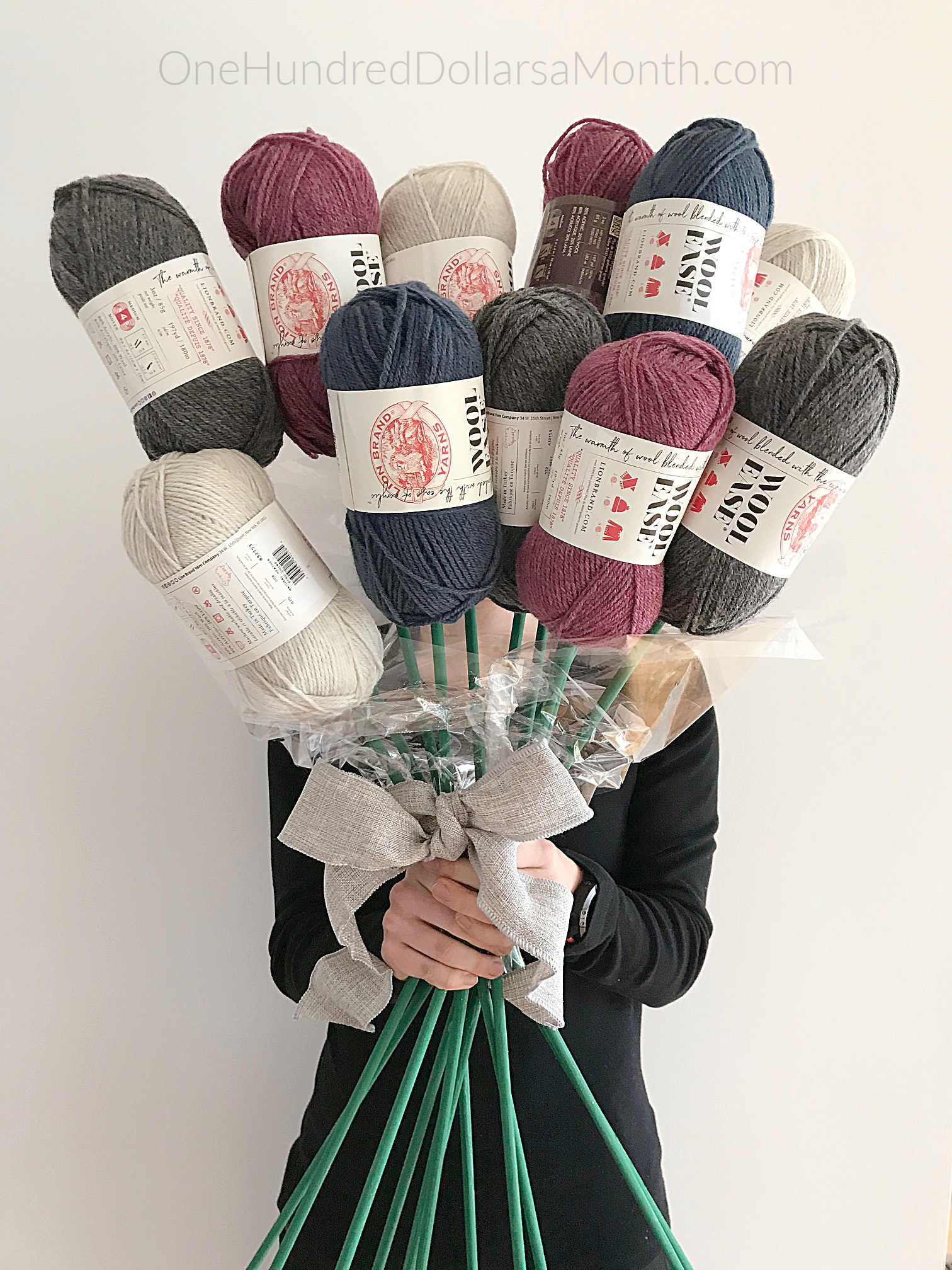 How to Make a Yarn Bouquet