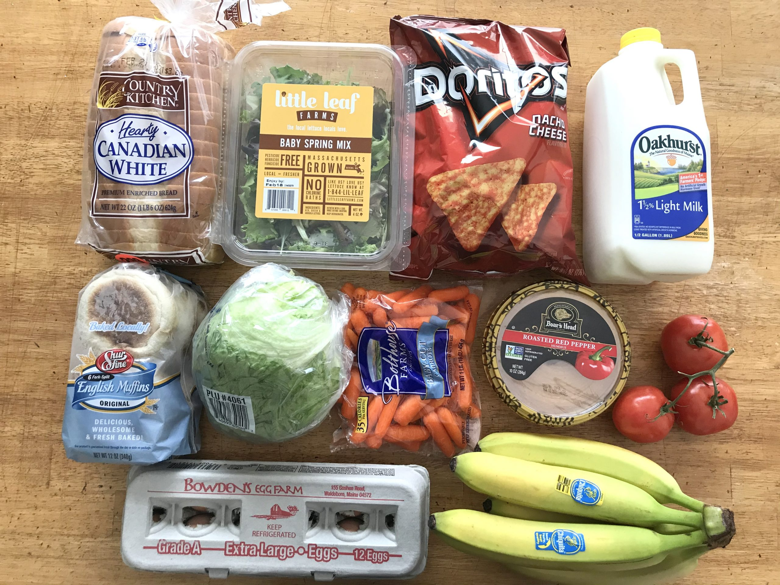 How Much We Spent Groceries and Meals We Ate Week 7 of 52