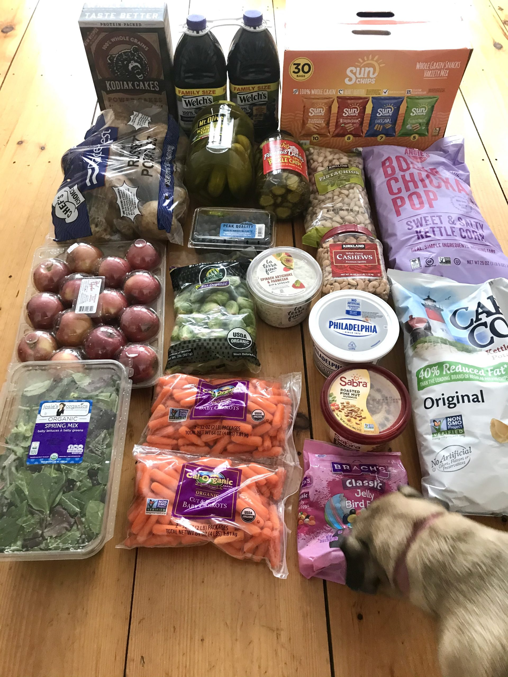 How Much We Spent Groceries and Meals We Ate Week 10 of 52