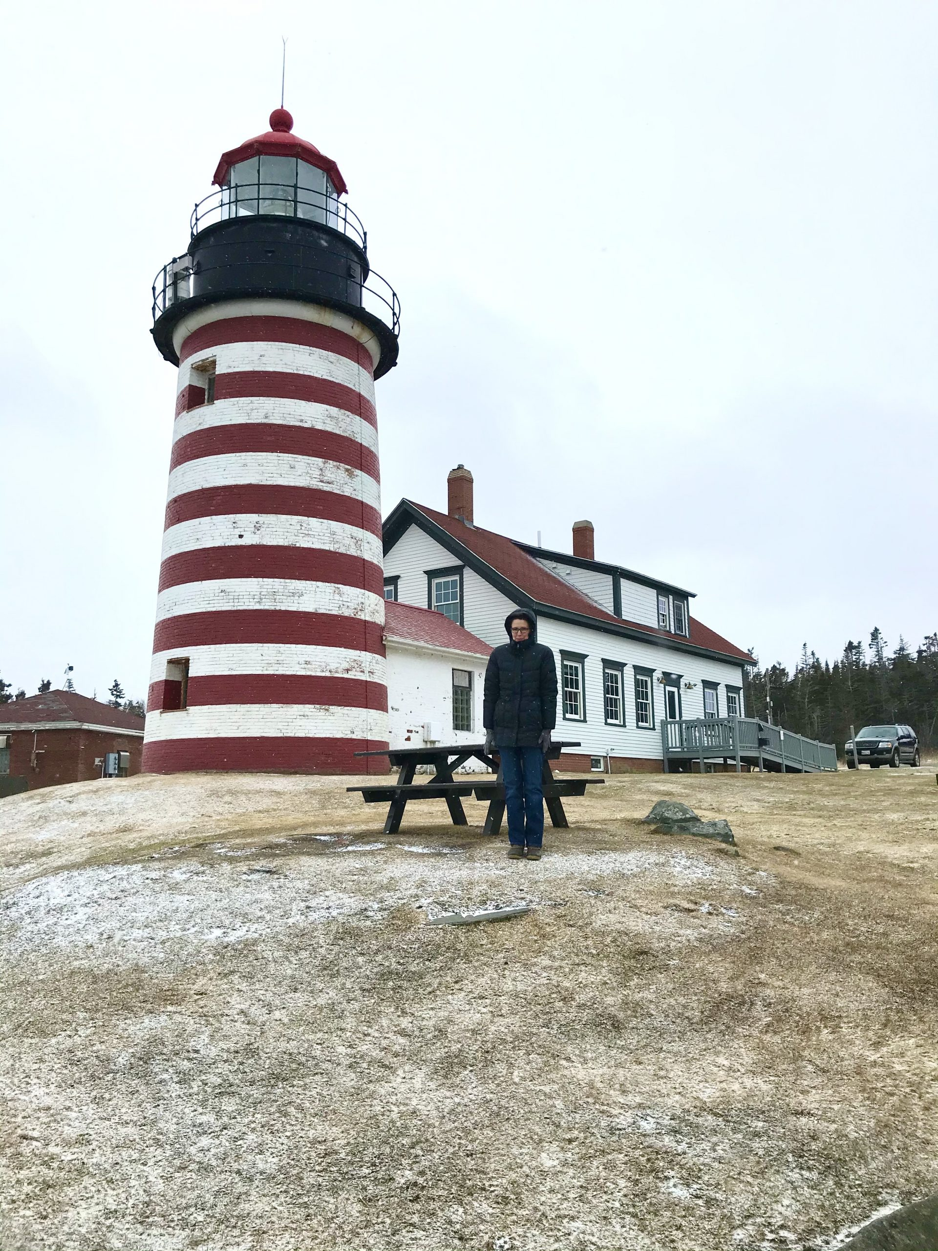 Adventure Day – West Quoddy Head Lighthouse, Antique Stores Meatloaf and More