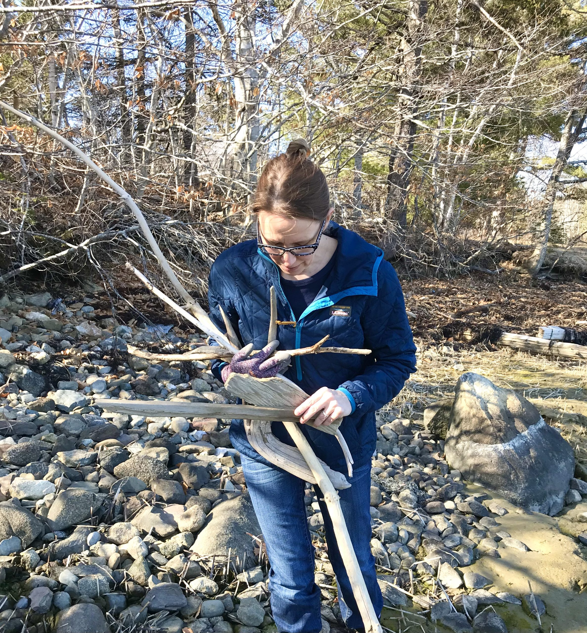 Gardening in Late March – Mid-Coast Maine