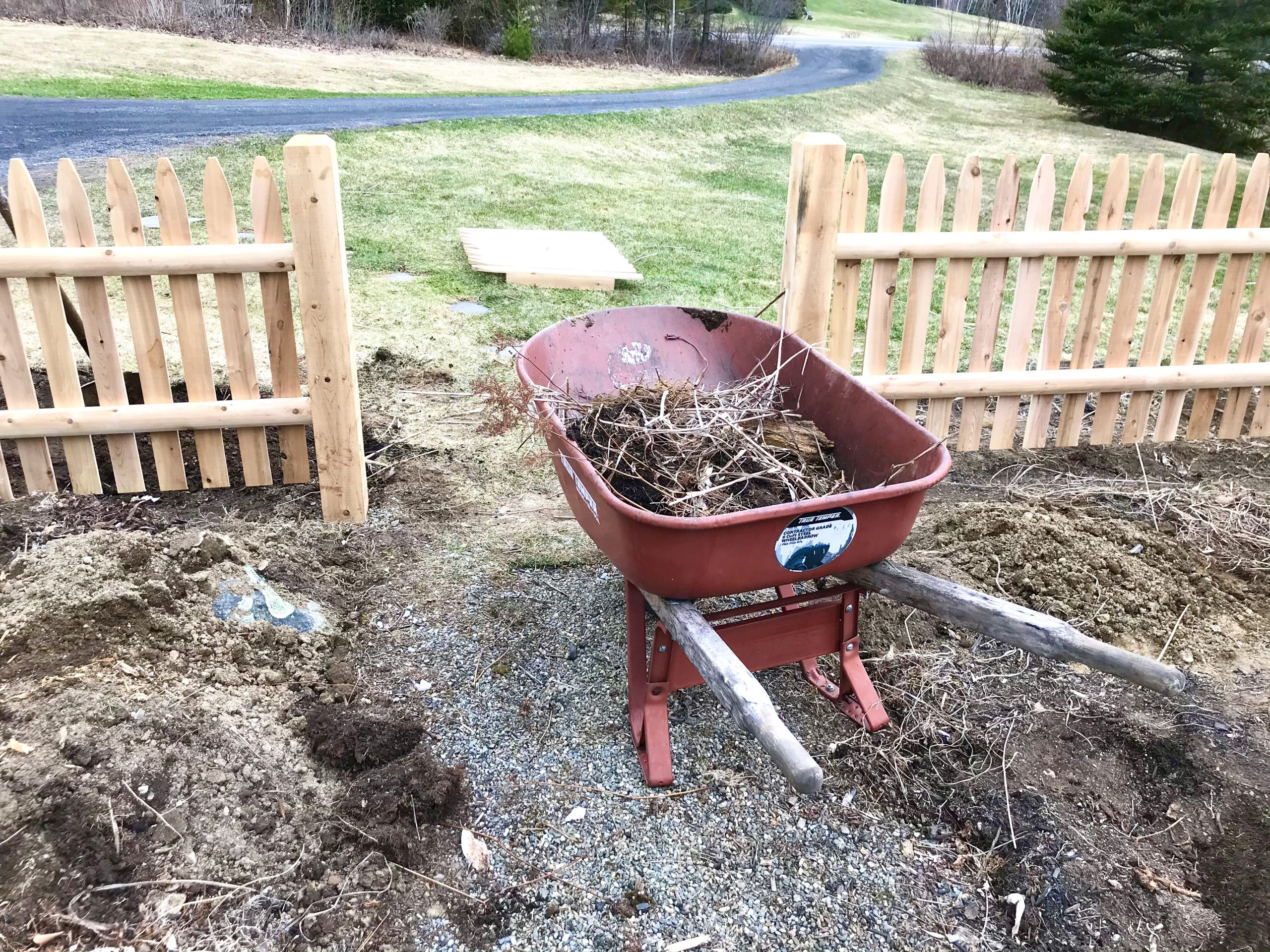 Gardening in Early April – Mid Coast Maine