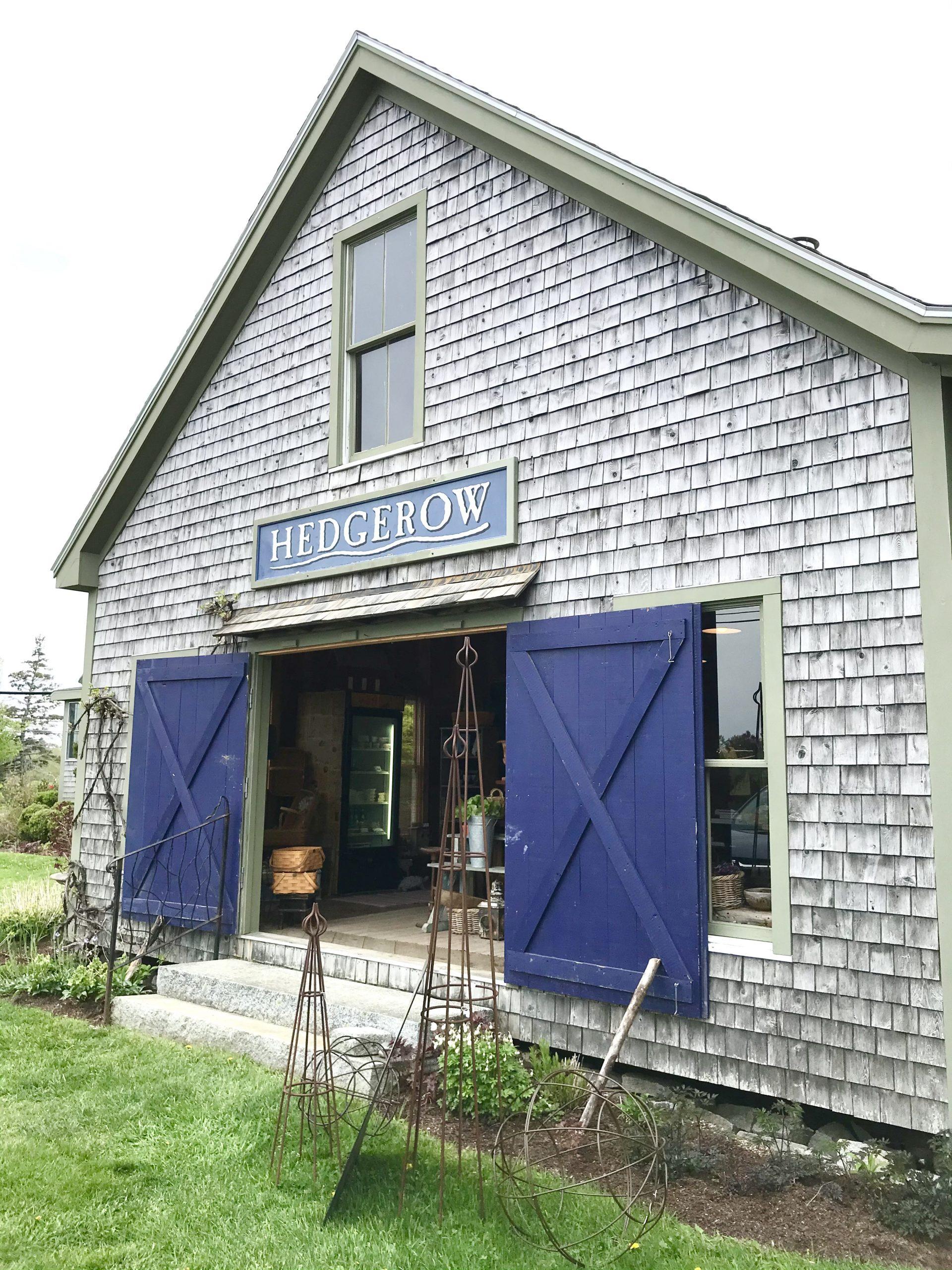 Hedgerow Market – Martinsville, Maine