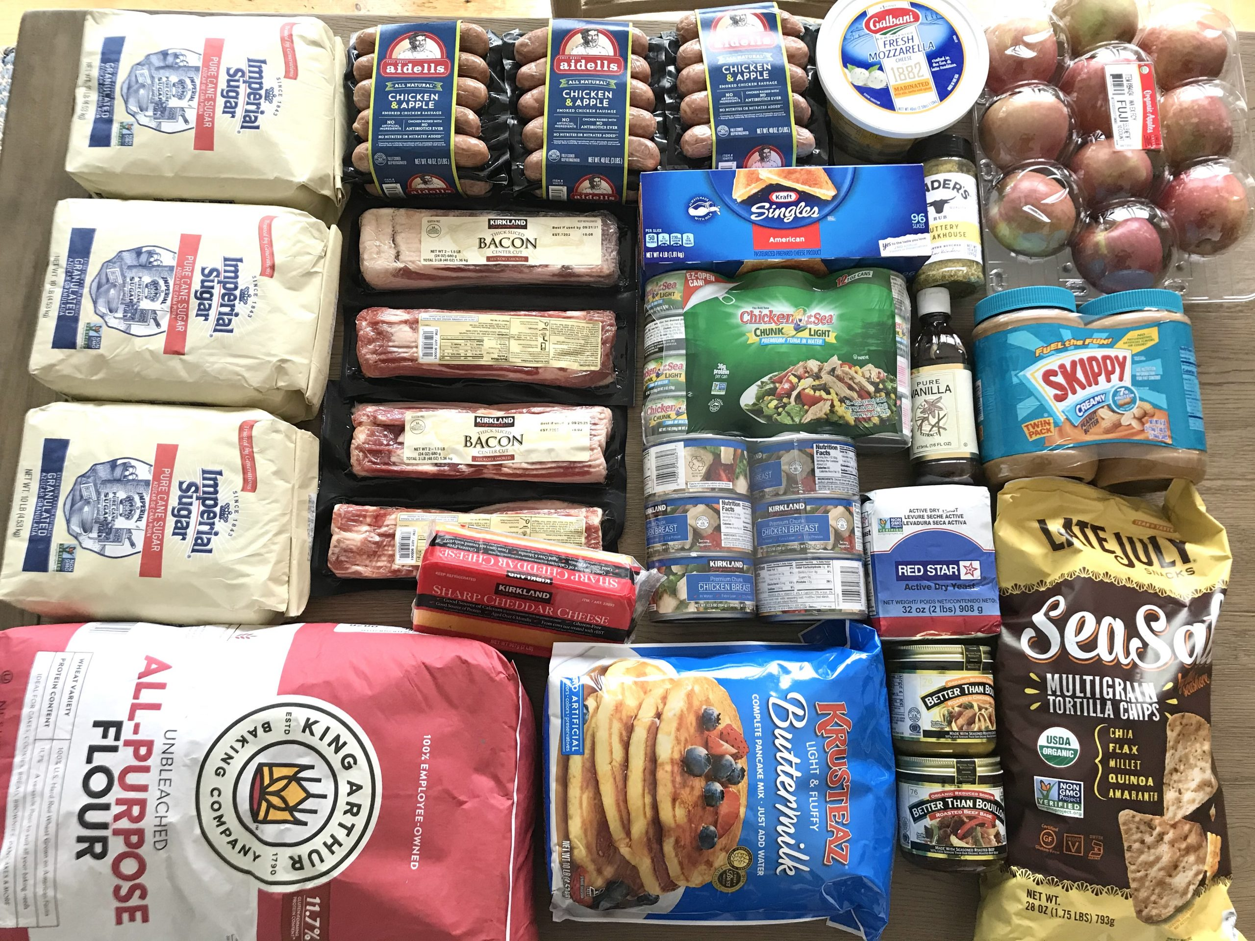 How Much We Spent Groceries and Meals We Ate Week 27 of 52