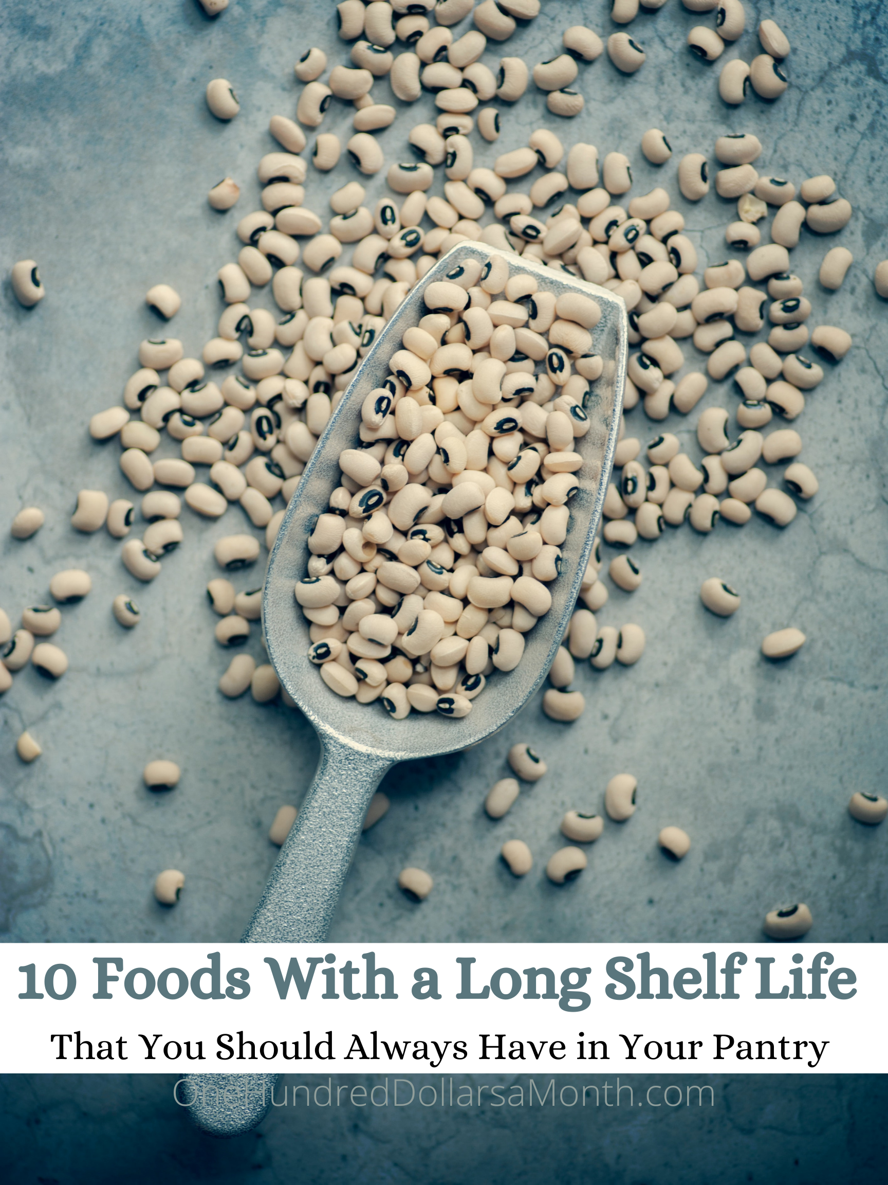 10 Foods With a Long Shelf Life {That You Should Always Have in Your Pantry}
