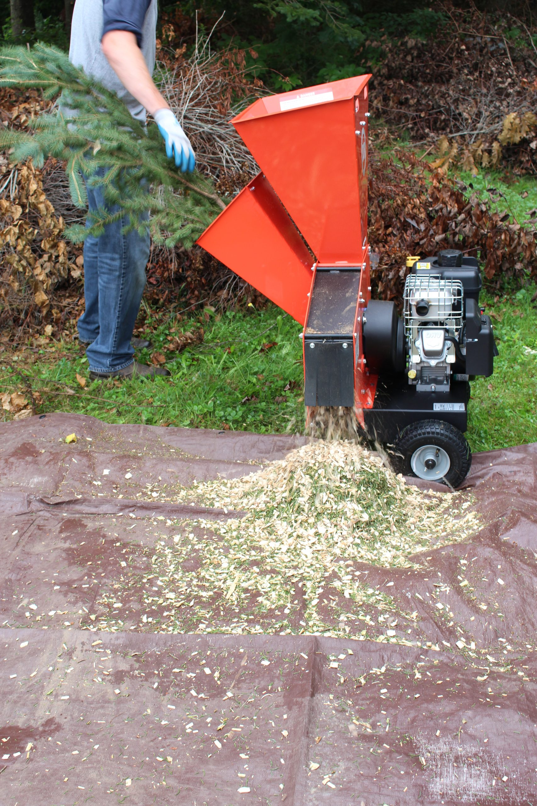 The HH Buys A DR Chipper Shredder PRO 400